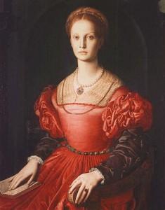 Lucrezia Panciatichi, by Bronzino