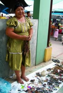 lady at market