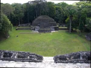 Caracol, smaller ruins