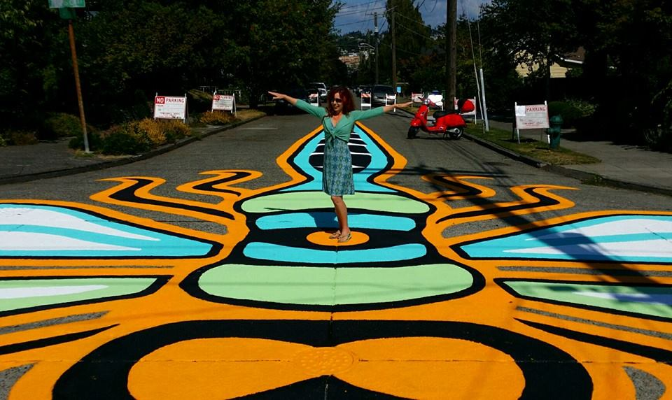 Intersection Mural