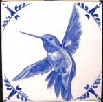 Rufous hummingbird -- sold