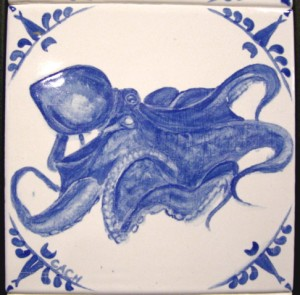Giant Pacific octopus -- sold