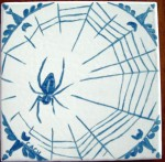Orb weaver spider -- gifted