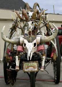 skull vehicle