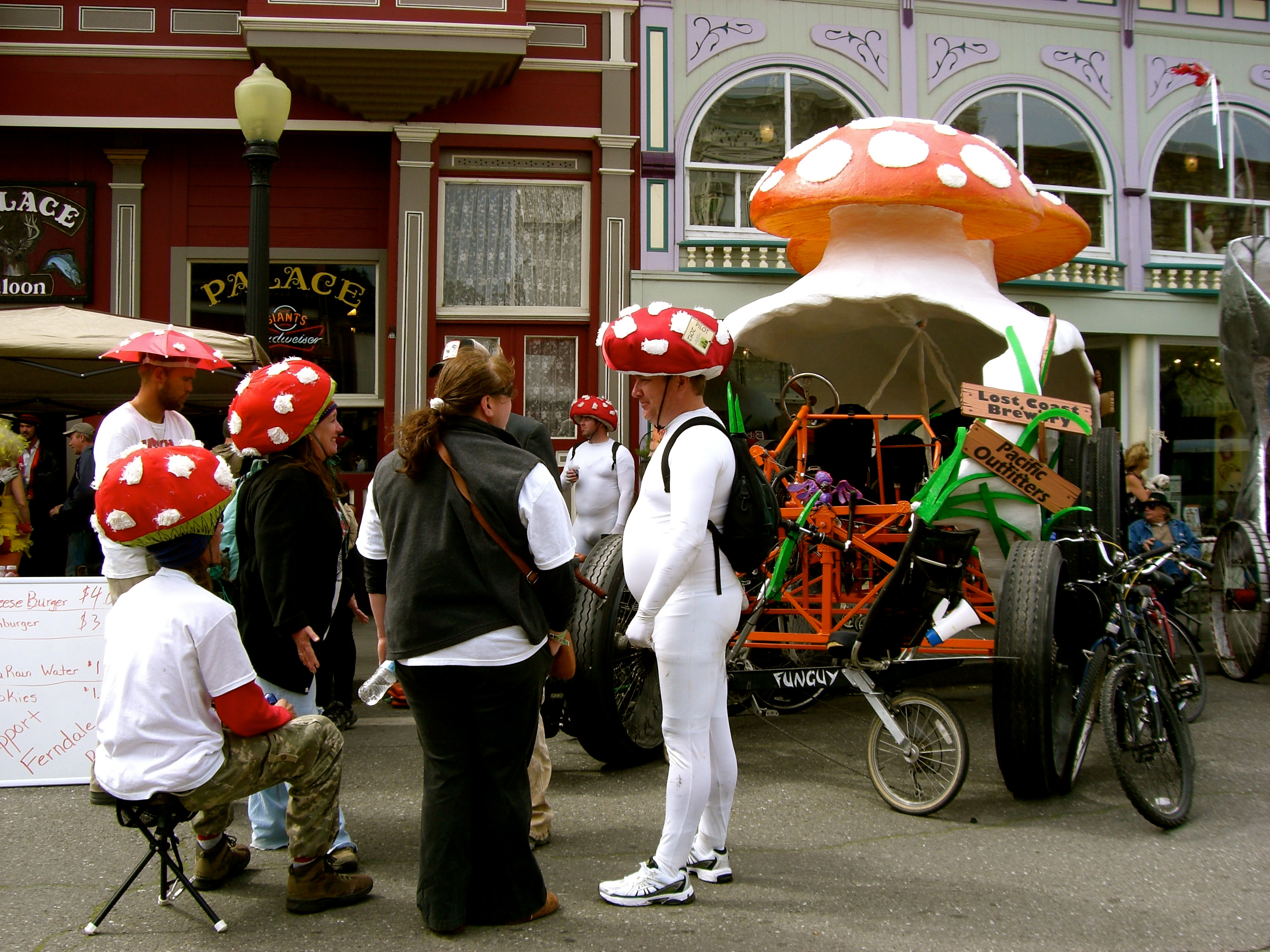 toadstool costumes