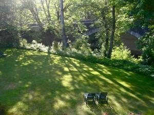 Benbow back garden