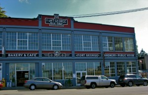 Exterior of Ft. George Brewery
