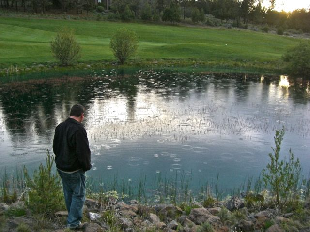 golf course pond