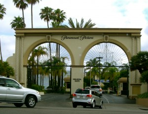 The Melrose Gate to Paramount Studios.