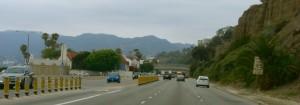 Approaching Malibu.