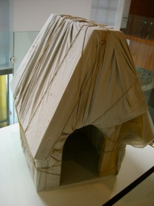 "Christo's ""Wrapped Snoopy House."""