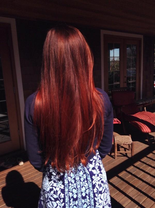 Henna On Dark Brown Hair Bleach First